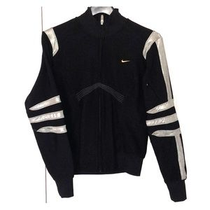 Nike Dri Fit Embroidered Jacket Size M (8-10)